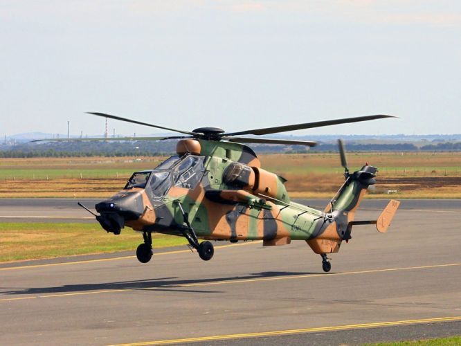 EUROCOPTER TIGER attack helicopter aircraft (8) wallpaper