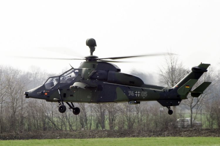 EUROCOPTER TIGER attack helicopter aircraft (12) wallpaper