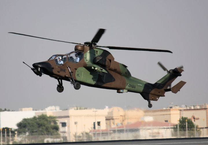 EUROCOPTER TIGER attack helicopter aircraft (10) wallpaper
