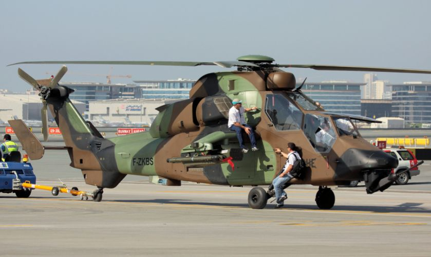 EUROCOPTER TIGER attack helicopter aircraft (9) wallpaper