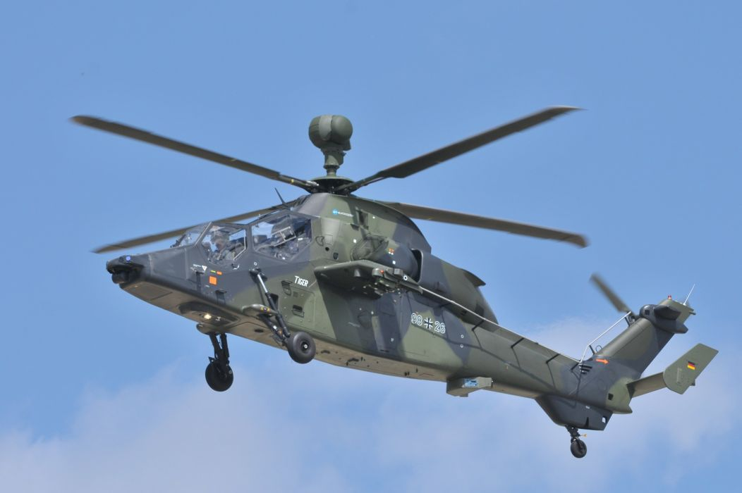 EUROCOPTER TIGER attack helicopter aircraft (11) wallpaper