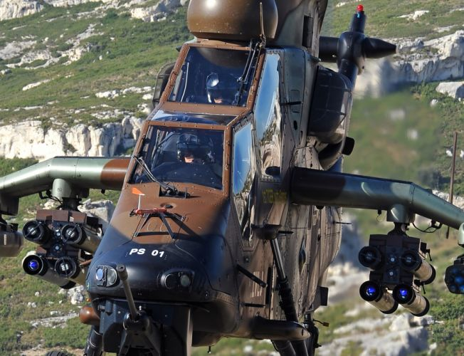 EUROCOPTER TIGER attack helicopter aircraft (31) wallpaper