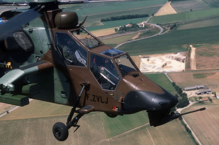 EUROCOPTER TIGER attack helicopter aircraft (30)_JPG wallpaper