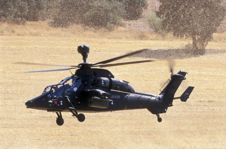 EUROCOPTER TIGER attack helicopter aircraft (27) wallpaper