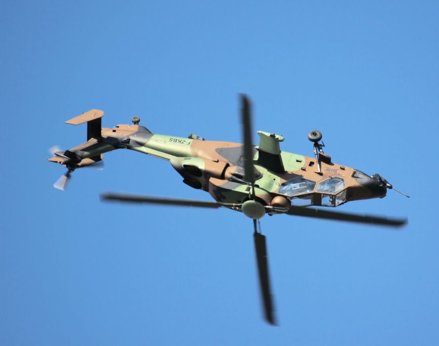 EUROCOPTER TIGER attack helicopter aircraft (21) wallpaper