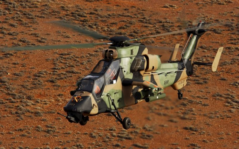 EUROCOPTER TIGER attack helicopter aircraft (19) wallpaper