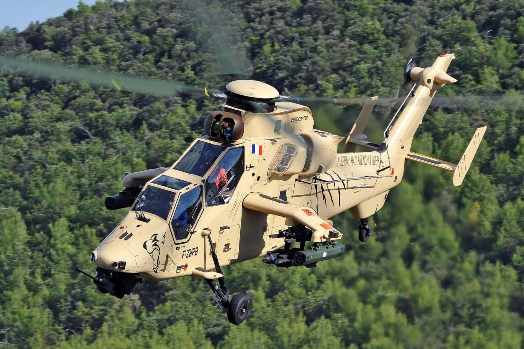 EUROCOPTER TIGER attack helicopter aircraft (17) wallpaper