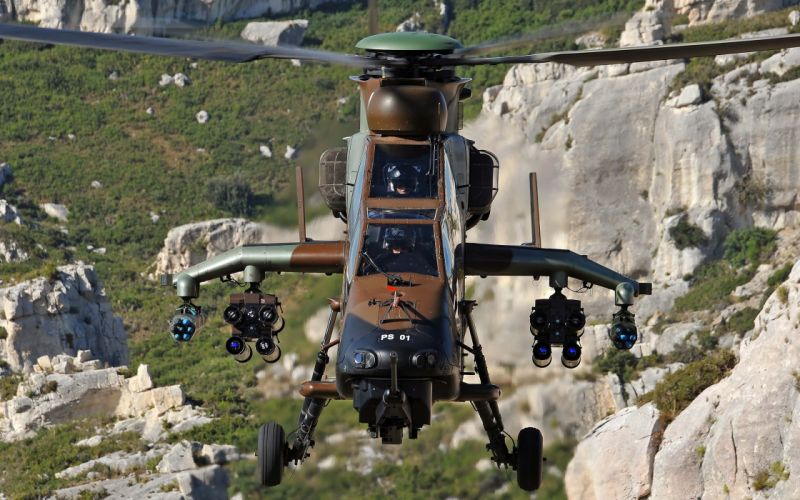 EUROCOPTER TIGER attack helicopter aircraft (18) wallpaper