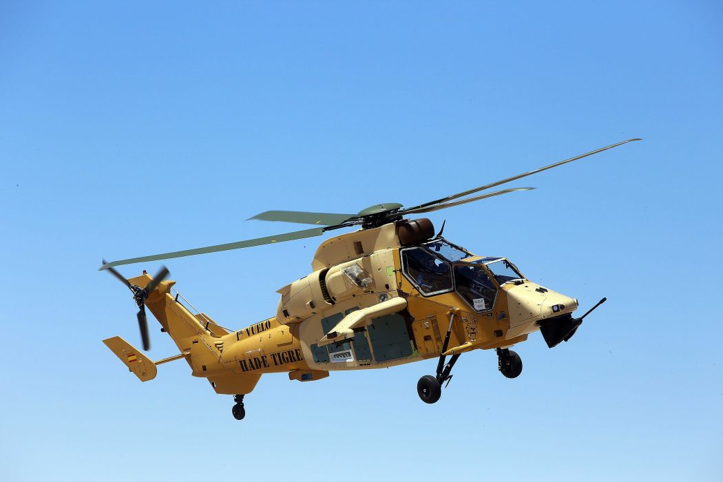 EUROCOPTER TIGER attack helicopter aircraft (54) wallpaper