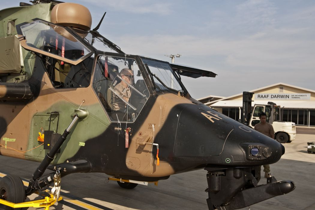 EUROCOPTER TIGER attack helicopter aircraft (47) wallpaper