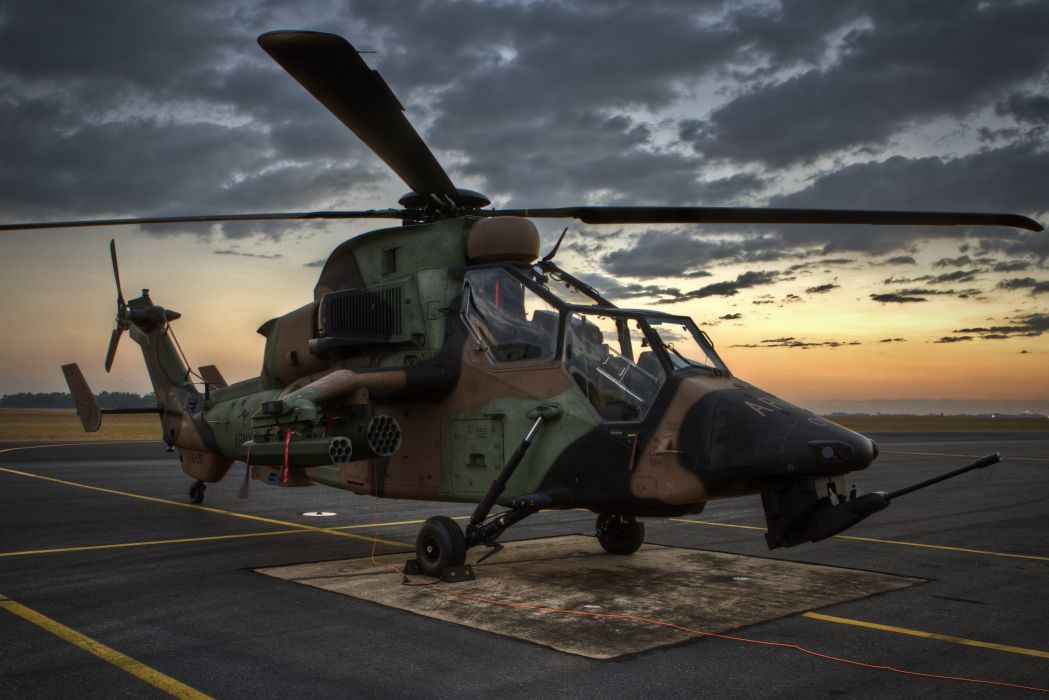 EUROCOPTER TIGER attack helicopter aircraft (45) wallpaper