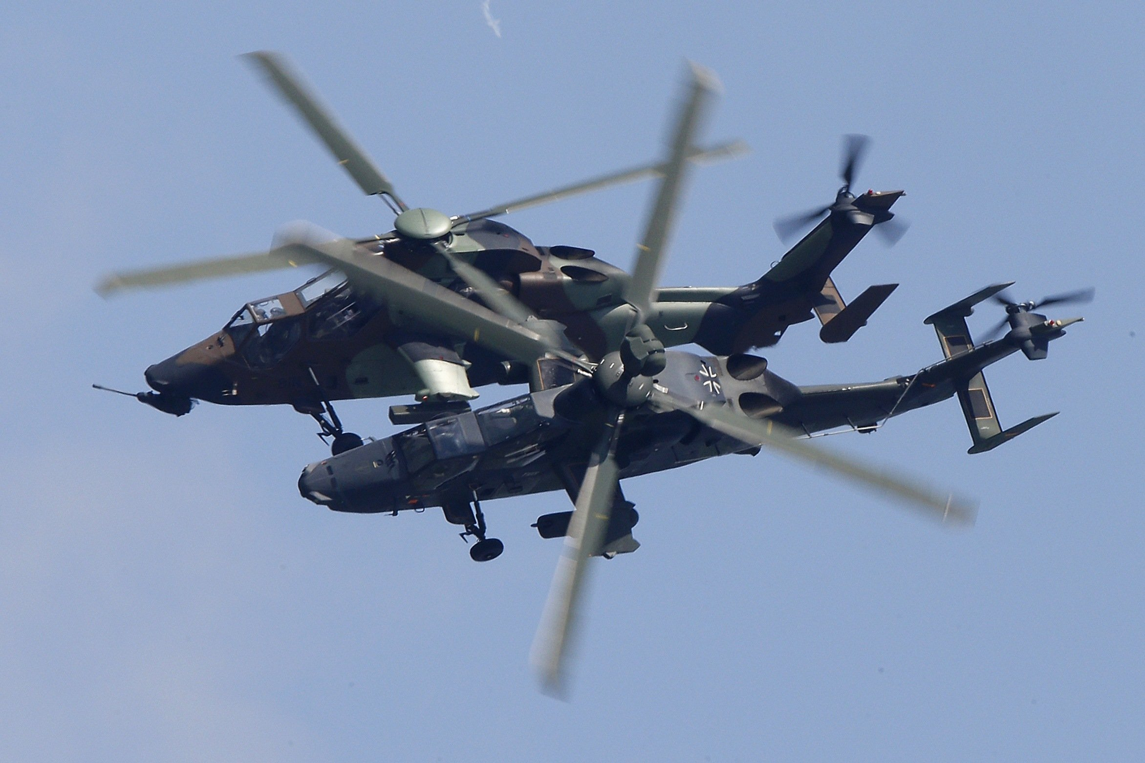eurocopter tiger attack helicopter aircraft 39 wallpaper 2343x1562 344819 wallpaperup. Black Bedroom Furniture Sets. Home Design Ideas