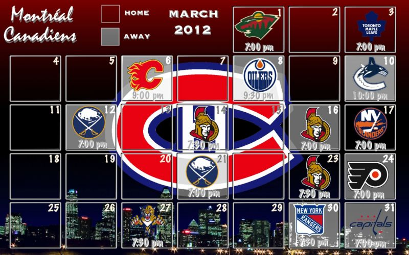 MONTREAL CANADIENS nhl hockey (3) wallpaper