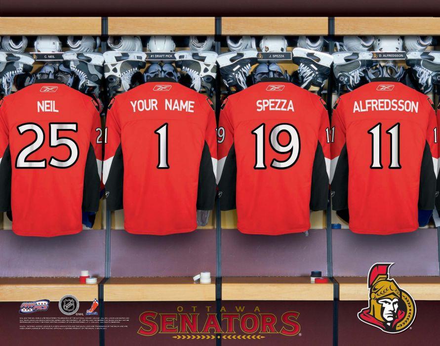 OTTAWA SENATORS nhl hockey (6) wallpaper