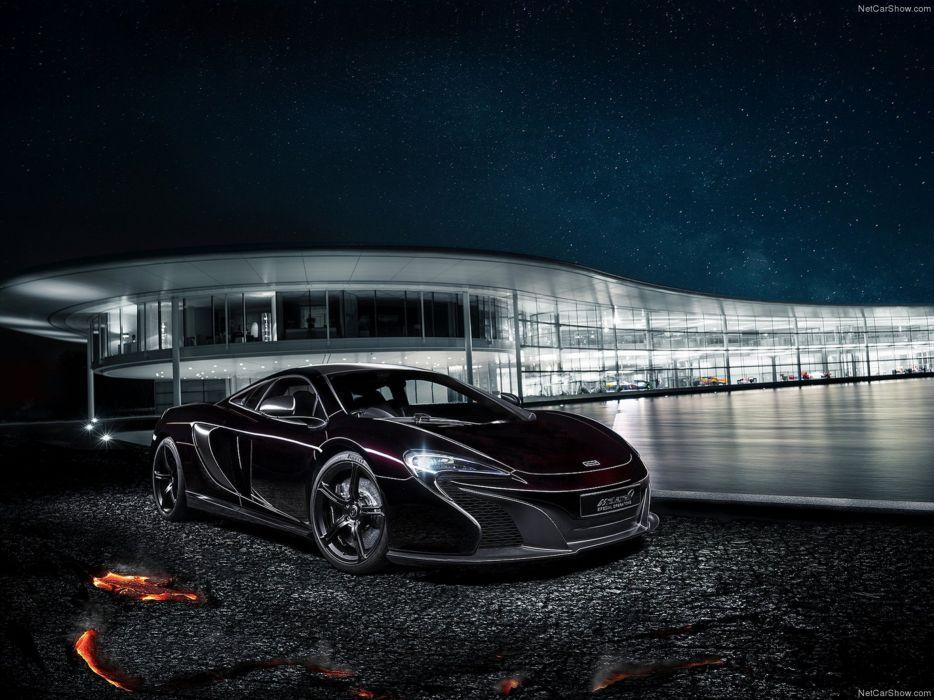 McLaren 650S Coupe MSO Concept 2014 supercar car black 4000x3000 wallpaper