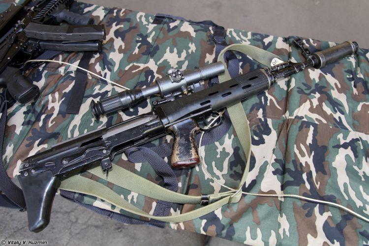 Russia army troops special-forces military russian firearms OSN-Saturn 7_62x54 sniper rifle SVU 5 wallpaper