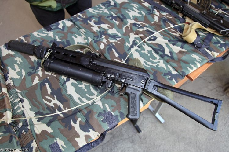 Russia army troops special-forces military russian firearms OSN-Saturn 9x18 submachine gun PP-19 Bizon 3 wallpaper
