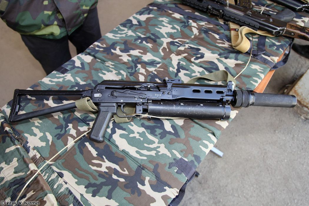 Russia army troops special-forces military russian firearms OSN-Saturn 9x18 submachine gun PP-19 Bizon 4 wallpaper