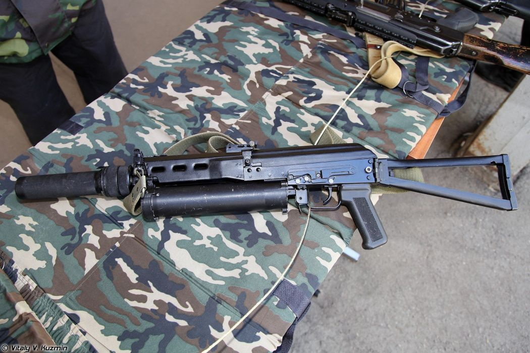 Russia army troops special-forces military russian firearms OSN-Saturn 9x18 submachine gun PP-19 Bizon 5 wallpaper