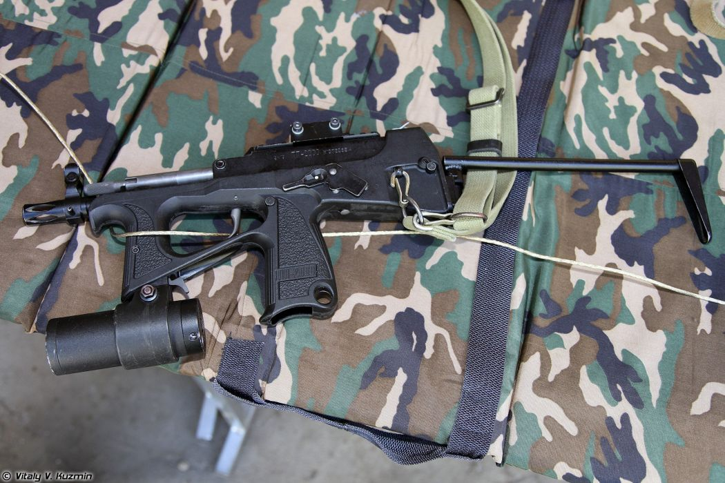 Russia army troops special-forces military russian firearms OSN-Saturn 9x19 submachine gun PP-2000 3 wallpaper
