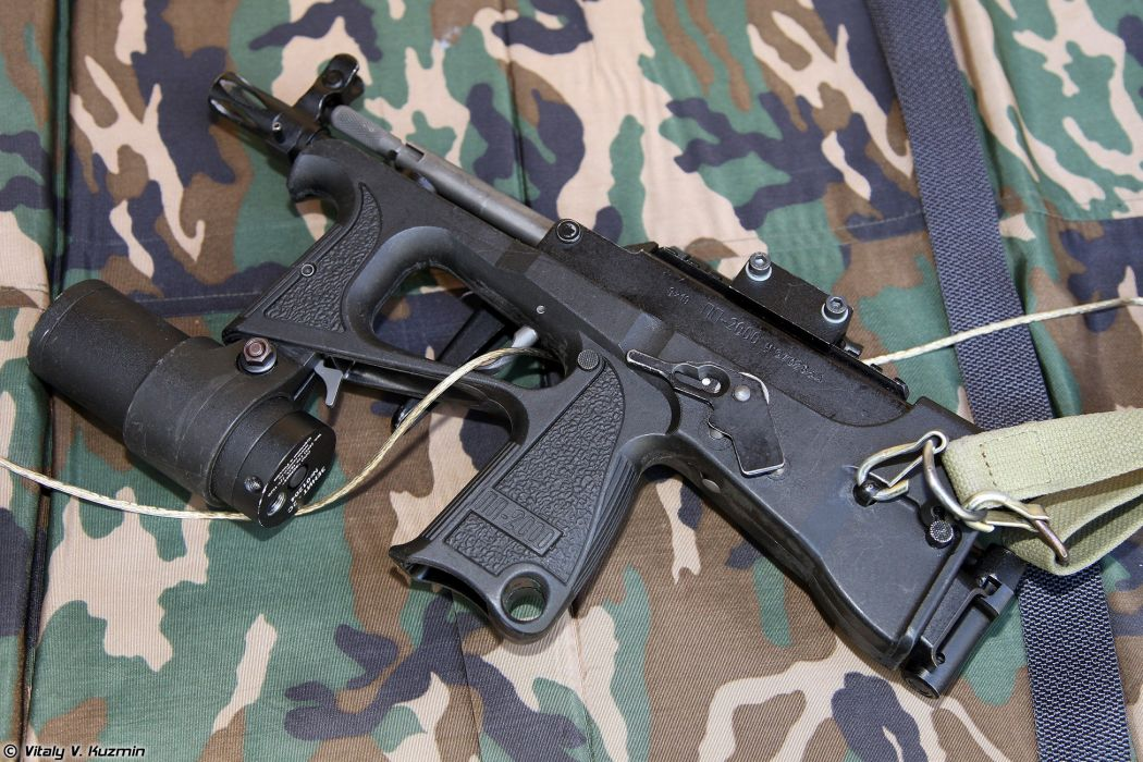 Russia army troops special-forces military russian firearms OSN-Saturn 9x19 submachine gun PP-2000 2 wallpaper