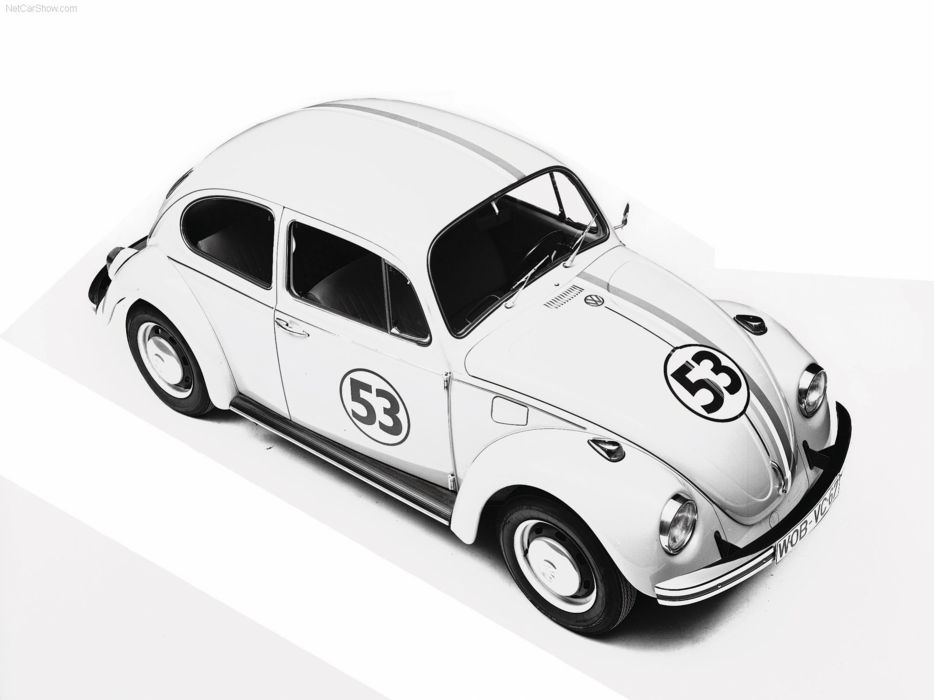 volkswagem beetle car classic retro popular herby wallpaper