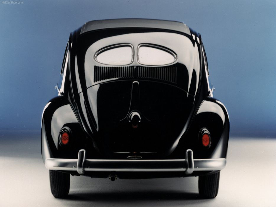 volkswagem beetle car classic retro popular black wallpaper