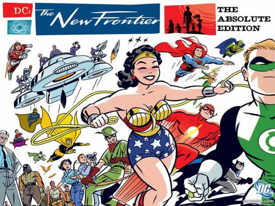 dc-comics justice-league superheroes comics the-new-frontier wallpaper