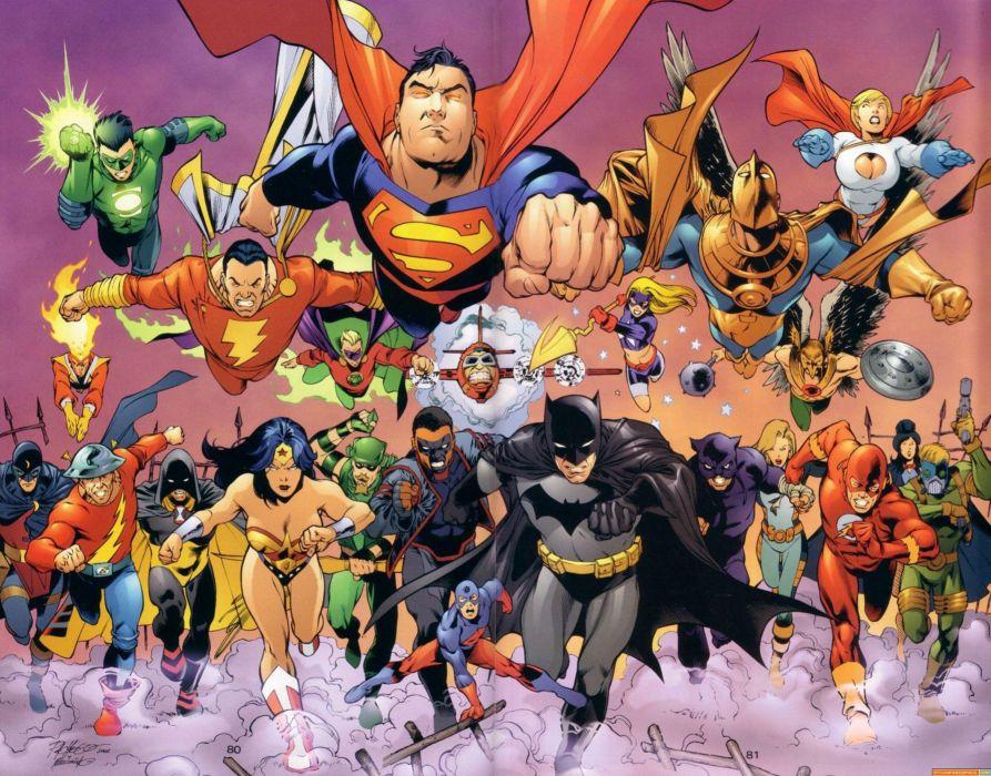 dc-comics justice-league superheroes comics wallpaper