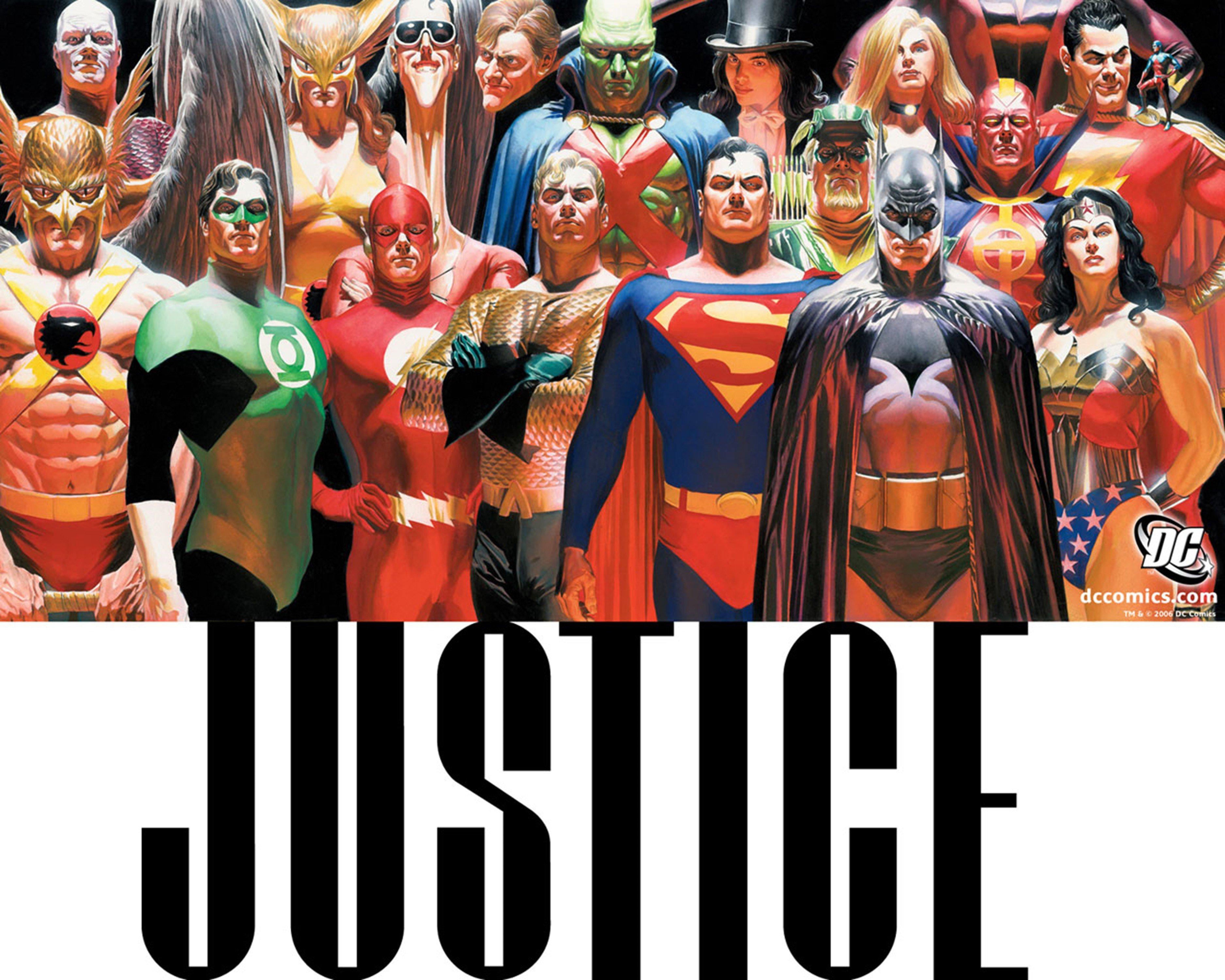 Justice League Dc Comics Superheroes Wallpapers: Dc-comics Justice-league Superheroes Comics Wallpaper