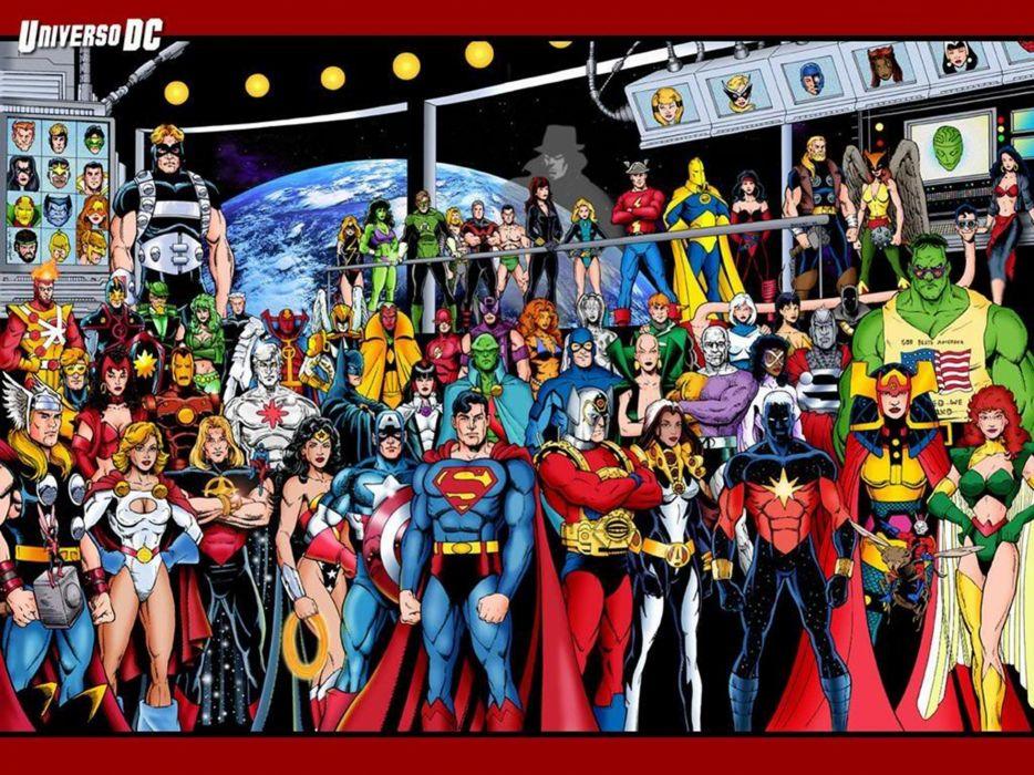 dc-comics justice-league superheroes comics marvel the-avengers wallpaper