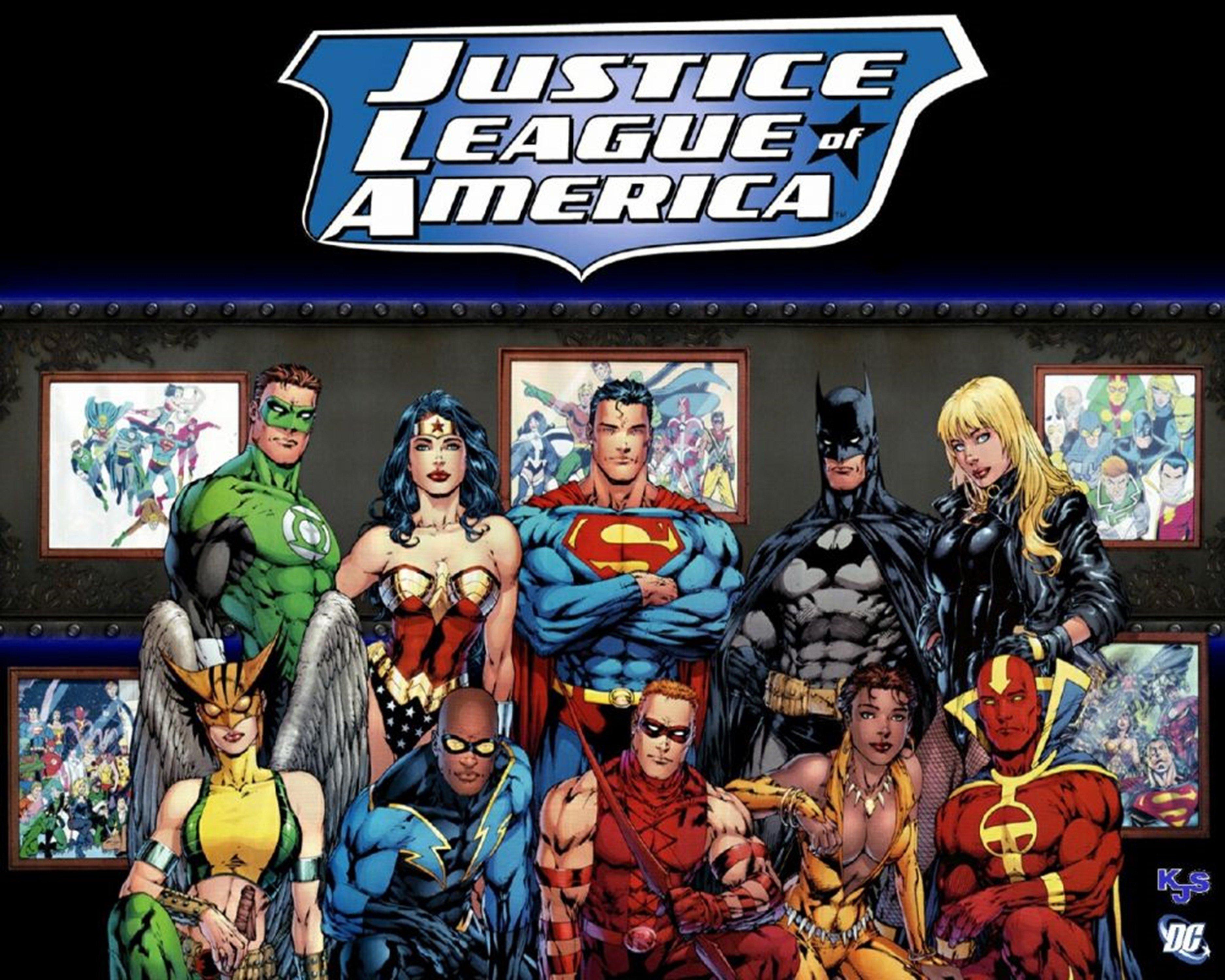 Dc Comics Justice League Superheroes Comics Wallpaper 3750x3000