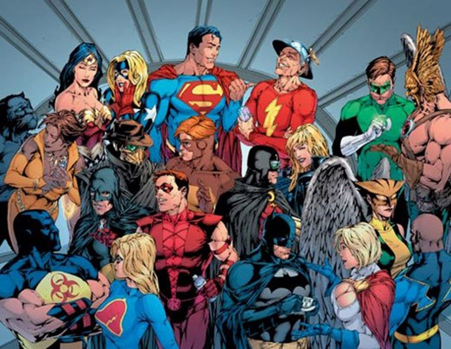 Dc Comics Justice League : Dc comics justice league superheroes wallpaper