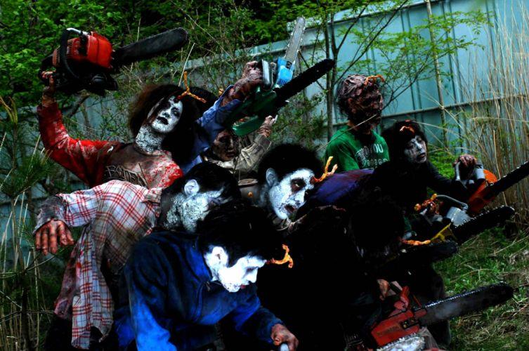 HELLDRIVER horror sci-fi movie film apocalyptic dark zombie blood wallpaper