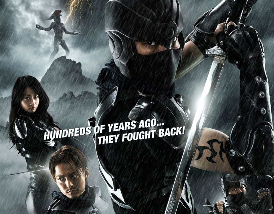ALIEN-VS-NINJA action comedy fantasy sci-fi martial alien ninja warrior weapon sword katana poster wallpaper
