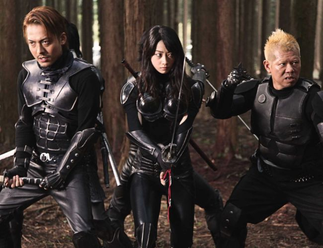 ALIEN-VS-NINJA action comedy fantasy sci-fi martial alien ninja warrior weapon sword katana wallpaper