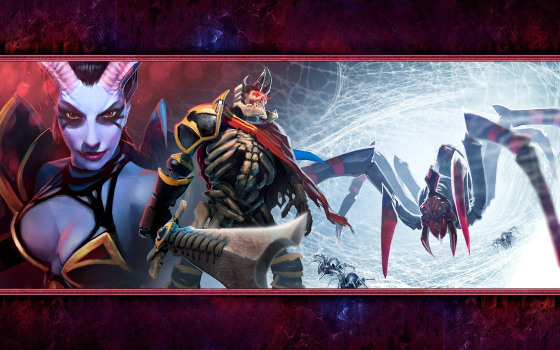 Video Games Valve Corporation Succubus Dota Dota 2 Queen Of