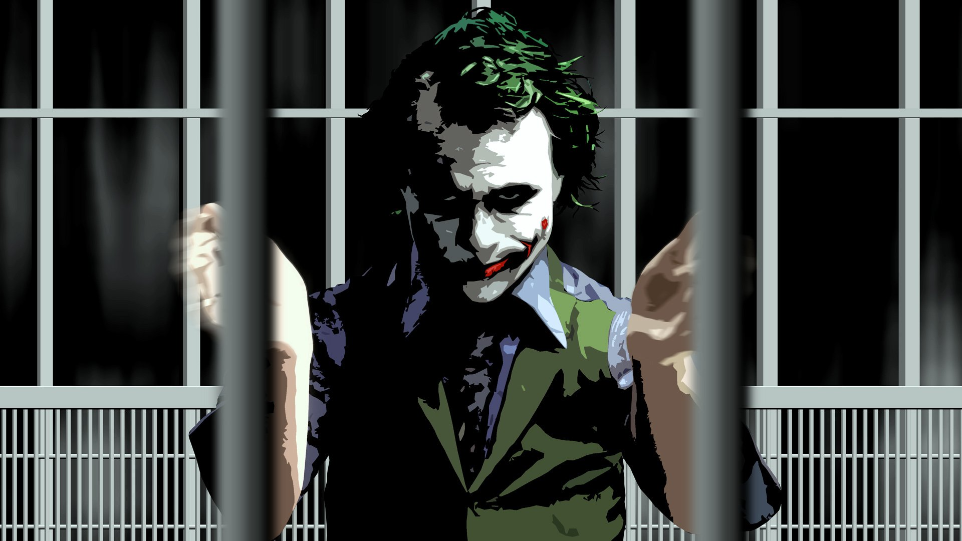 The Joker The Dark Knight Wallpaper 1920x1080 345494