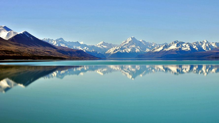 landscapes nature New Zealand HDR photography wallpaper