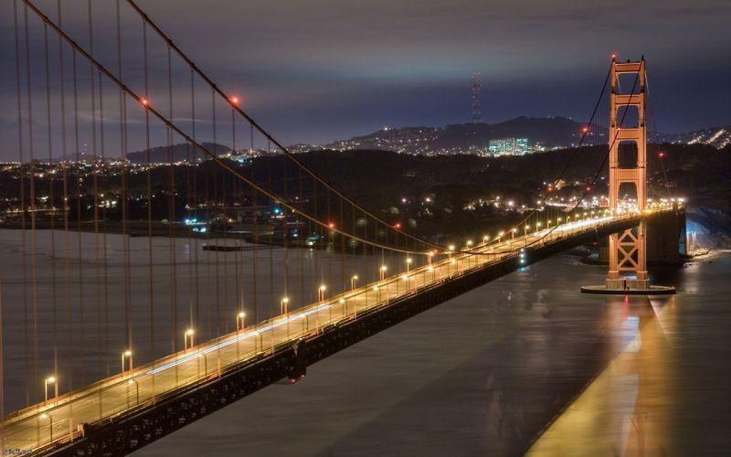 bridges city skyline wallpaper