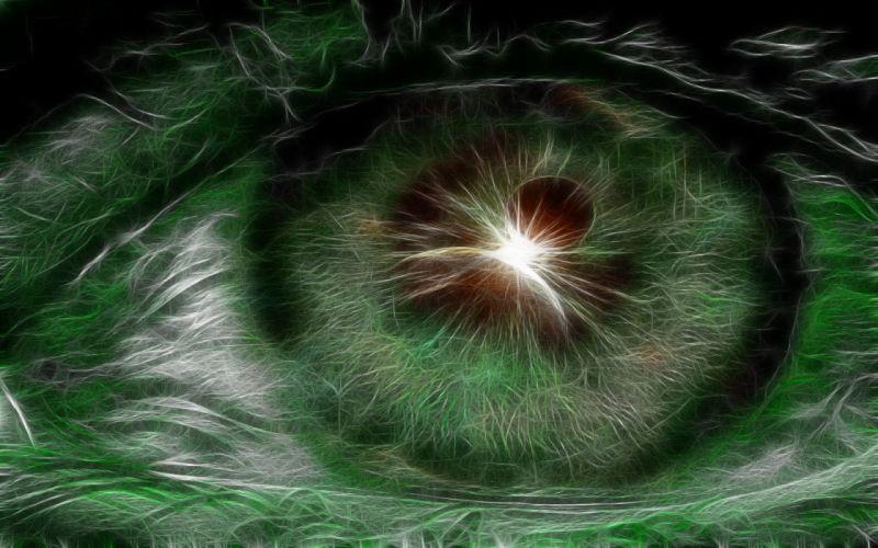 eyes Fractalius wallpaper