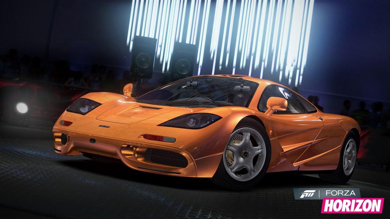 video games cars Xbox 360 McLaren F1 Forza Horizon wallpaper
