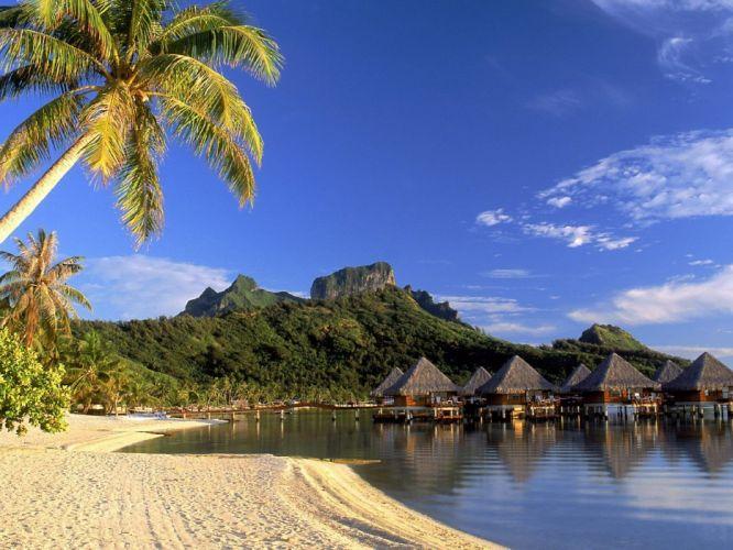 islands resort wallpaper