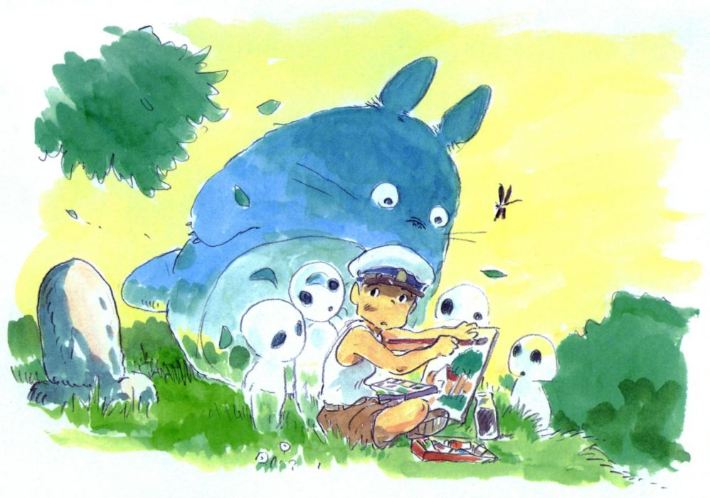 Totoro My Neighbour Totoro wallpaper