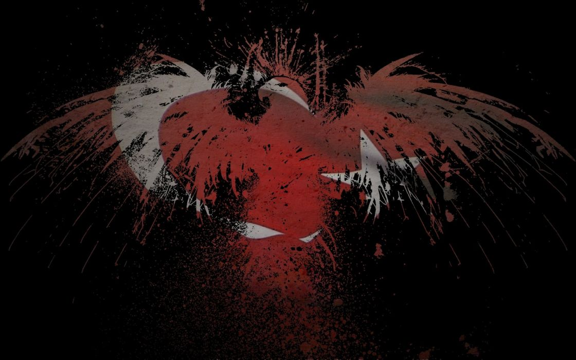 eagles flags Turkey wallpaper