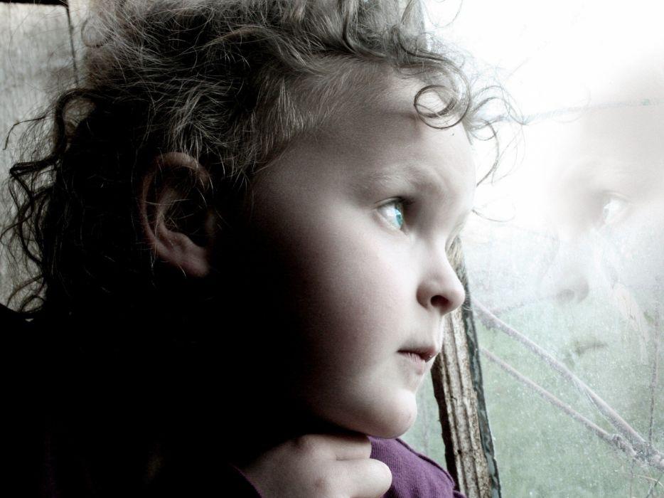window panes children wallpaper