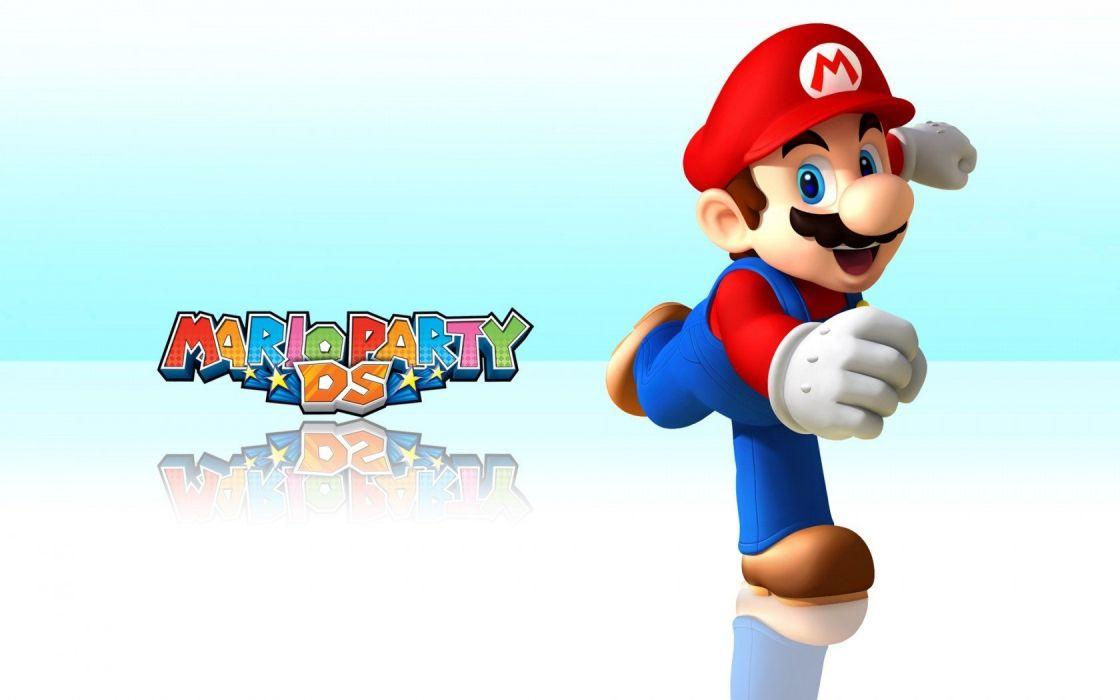 Mario worlds widescreen wallpaper