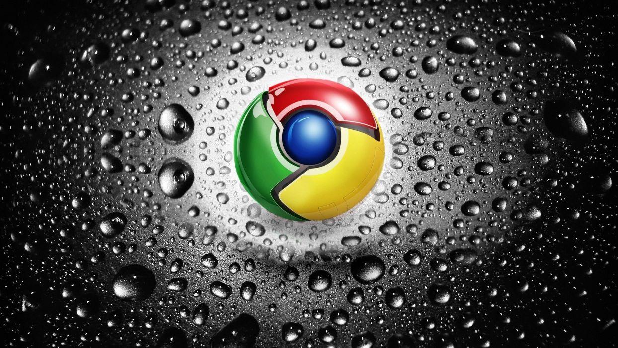 water logos Google Chrome wallpaper