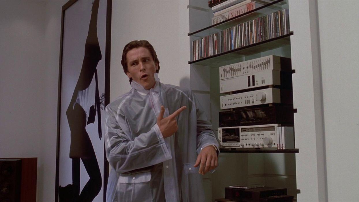 American Psycho Christian Bale Patrick Bateman wallpaper