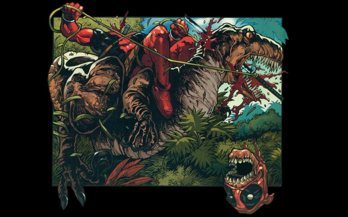 Deadpool Wade Wilson Marvel Comics wallpaper